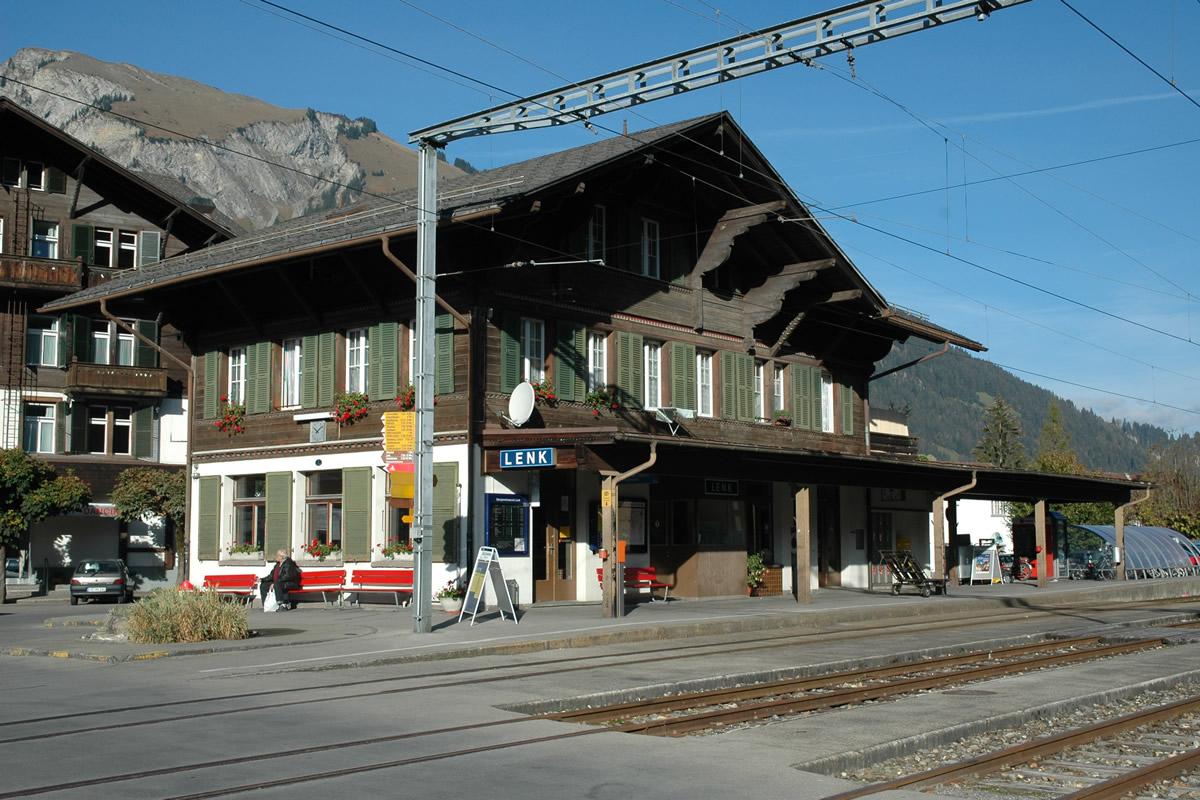 Вокзал Ленк, Швейцария